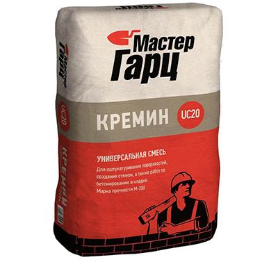 Смесь цементная Мастер Гарц Кремин UC20 50 кг
