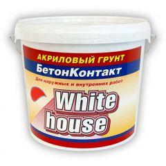 Грунтовка акриловая White House бетонконтакт 12 кг