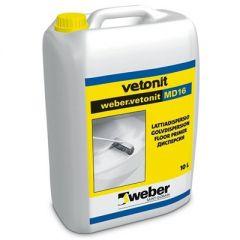 Грунтовка Weber-Vetonit MD 16 10 л