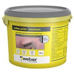 Грунтовка сцепляющая Weber-Vetonit prim Contact 5 кг
