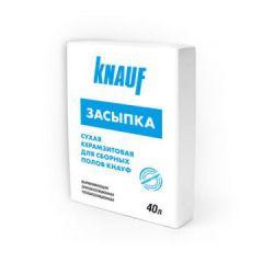 Засыпка сухая Керамзит Кнауф 0-5 мм 40 л