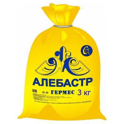 Гипс строительный Гермес алебастр 3 кг