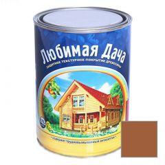 Защитно-декоративное покрытие Рогнеда Любимая Дача для древесины Груша 0,75 л
