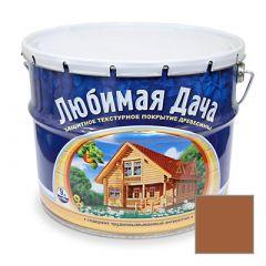 Защитно-декоративное покрытие Рогнеда Любимая Дача для древесины Груша 9 л