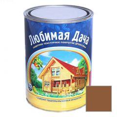 Защитно-декоративное покрытие Рогнеда Любимая Дача для древесины Орех 0,75 л