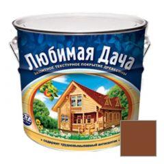 Защитно-декоративное покрытие Рогнеда Любимая Дача для древесины Тик 2,7 л