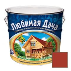 Защитно-декоративное покрытие Рогнеда Любимая Дача для древесины Рябина 2,7 л