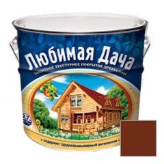 Защитно-декоративное покрытие Рогнеда Любимая Дача для древесины Махагон 2,7 л