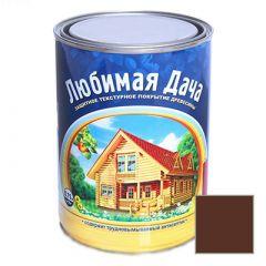 Защитно-декоративное покрытие Рогнеда Любимая Дача для древесины Палисандр 0,75 л