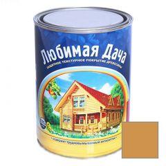 Защитно-декоративное покрытие Рогнеда Любимая Дача для древесины Калужница 0,75 л