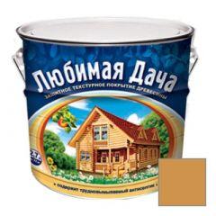 Защитно-декоративное покрытие Рогнеда Любимая Дача для древесины Калужница 2,7 л
