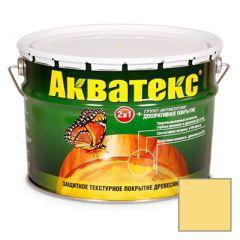 Защитно-декоративное покрытие Акватекс для древесины сосна 10 л