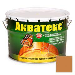 Защитно-декоративное покрытие Акватекс для древесины груша 10 л