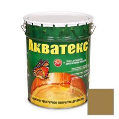 Защитно-декоративное покрытие Акватекс для древесины дуб 20 л