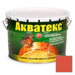 Защитно-декоративное покрытие Акватекс для древесины рябина 10 л