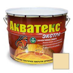 Защитно-декоративное покрытие Акватекс Экстра для древесины прозрачный 9 л