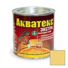 Защитно-декоративное покрытие Акватекс Экстра для древесины сосна 0,8 л
