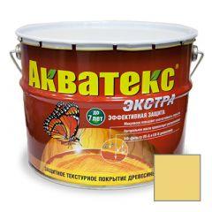 Защитно-декоративное покрытие Акватекс Экстра для древесины сосна 10 л