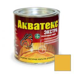 Защитно-декоративное покрытие Акватекс Экстра для древесины желтый 0,8 л