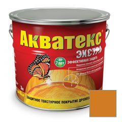 Защитно-декоративное покрытие Акватекс Экстра для древесины орегон 3 л