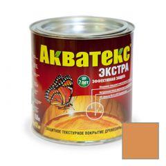 Защитно-декоративное покрытие Акватекс Экстра для древесины груша 0,8 л