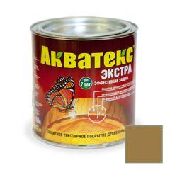 Защитно-декоративное покрытие Акватекс Экстра для древесины дуб 0,8 л
