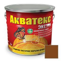 Защитно-декоративное покрытие Акватекс Экстра для древесины орех 3 л