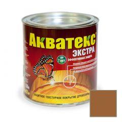 Защитно-декоративное покрытие Акватекс Экстра для древесины тик 0,8 л