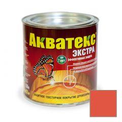 Защитно-декоративное покрытие Акватекс Экстра для древесины рябина 0,8 л