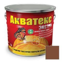 Защитно-декоративное покрытие Акватекс Экстра для древесины палисандр 3 л