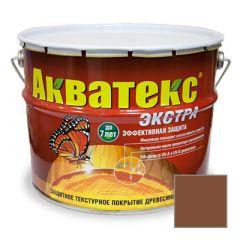 Защитно-декоративное покрытие Акватекс Экстра для древесины палисандр 10 л