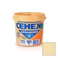 Защитно-декоративное покрытие Сенеж Аквадекор 102 Прозрачный 0,9 кг