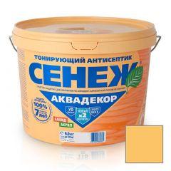 Защитно-декоративное покрытие Сенеж Аквадекор 103 Сосна 9 кг