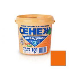 Защитно-декоративное покрытие Сенеж Аквадекор 106 Орегон 0,9 кг