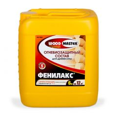 Огнебиозащита Woodmaster Фенилакс 6 кг