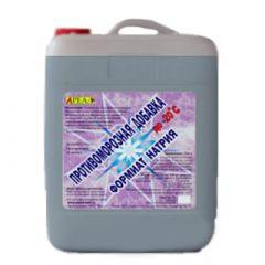 Противоморозная добавка Ареал+ Формиат Натрия 10 л