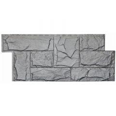 Сайдинг под камень Гранит Леон T-SIDING Серый