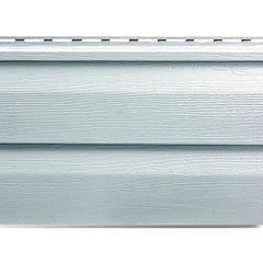 Виниловый сайдинг Корабельный брус Альта-Профиль Светло-серый 3 м