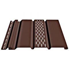 Соффит Т4 с центральной перфорацией Docke Шоколад