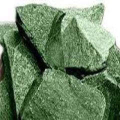 Камень для печей Жадеит колотый Зеленый 20 кг