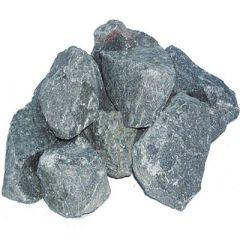 Камень для печей Габбро-диабаз из Карелии Серо-черный 10 кг