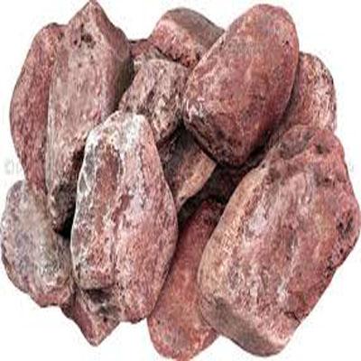 Камень для печей Яшма сургучная Огненный камень Розовый с вкраплениями 10 кг