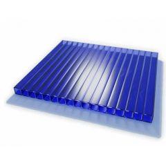 Сотовый поликарбонат Уникум 12000х2100х4 мм Синий