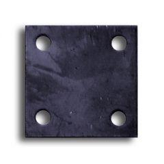 Пластина для оголовка винтовых свай без отверстий 200х200 мм