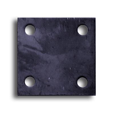 Пластина для оголовка винтовых свай 200х200 мм