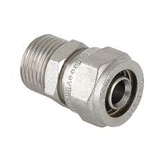 Соединитель прямой Valtec VTm.301.N.002004 под обжим 20 мм х 1/2