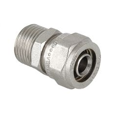 Соединитель прямой Valtec VTm.301.N.002005 под обжим 20 мм х 3/4