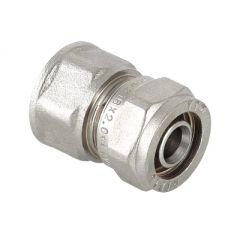 Соединитель прямой Valtec VTm.302.N.002605 под обжим 26 мм х 3/4