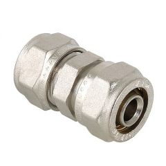 Соединитель прямой Valtec VTm.303.N.002020 под обжим 20 x 20 мм