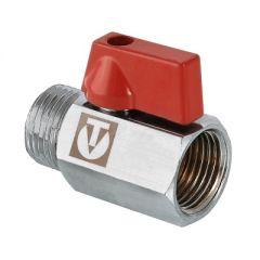 Кран Valtec VT.331.N.04 MINI шаровой с наружно-внутренней резьбой 1/2